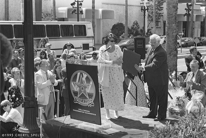 Tyne Daly and Johnny Grant // Photo: Cheryl Spelts