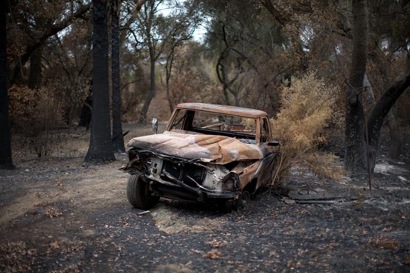 Burned Truck