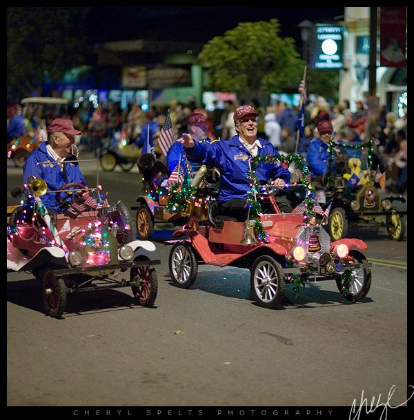 Mini Cars, Fallbrook Christmas Parade