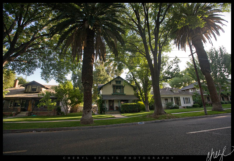 Craftsmen Houses in Riverside, California