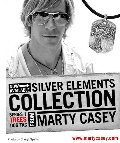 Trees Dog Tag from Marty Casey