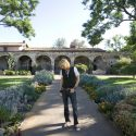 Marty Casey at Mission San Juan Capistrano