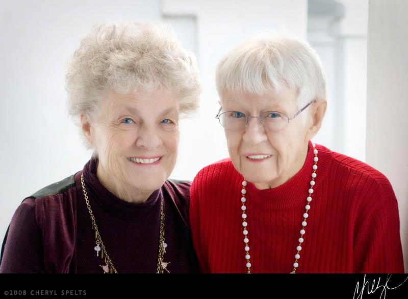 Grandma Rose and Great Grandma Rie // Photo: Cheryl Spelts