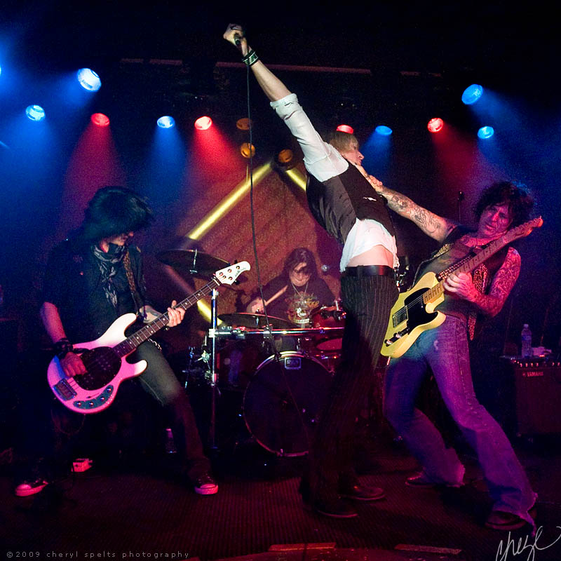LA Guns // Photo: Cheryl Spelts