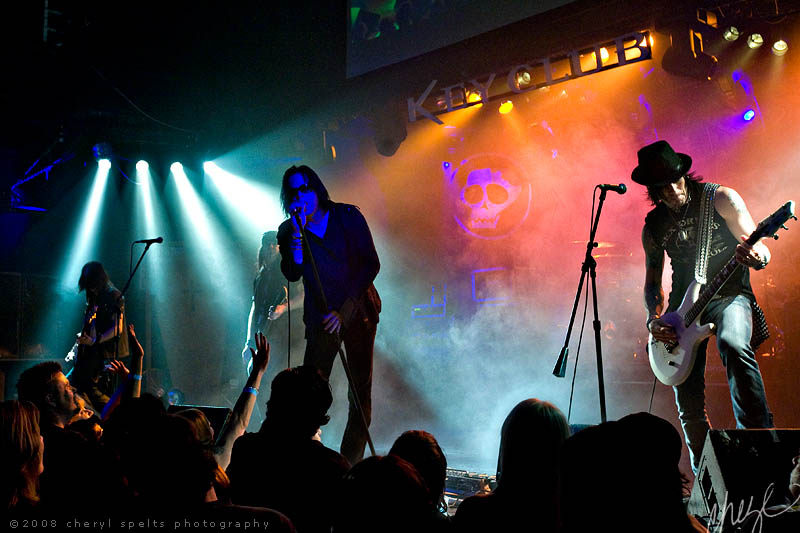Bang Tango at the Key Club // Photo: Cheryl Spelts