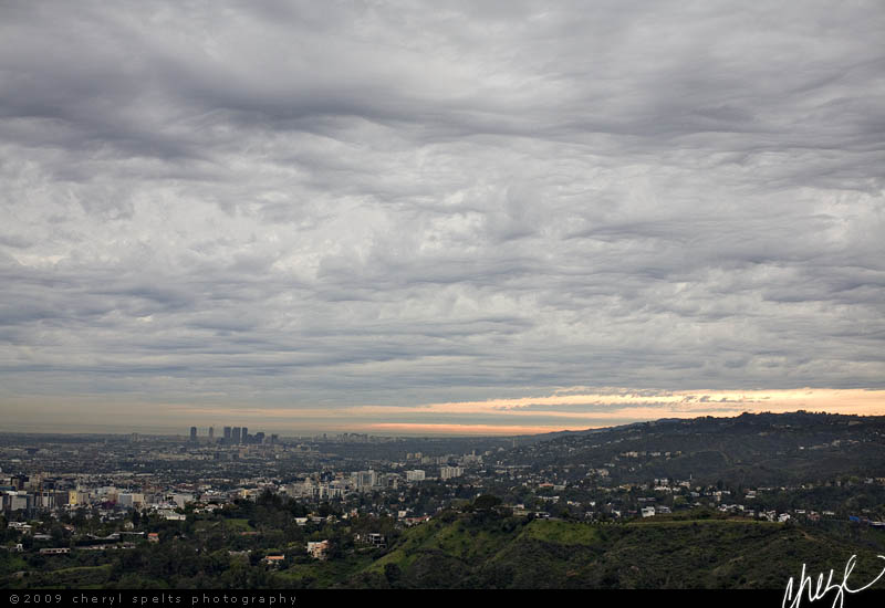 View from Griffith Observatory // Photo: Cheryl Spelts