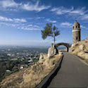 The World Peace Bridge on Mount Rubidoux