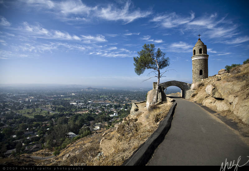 World Peace Bridge on Mount Rubidoux // Photo: Cheryl Spelts