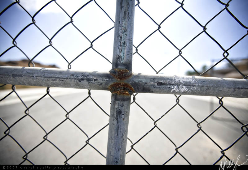 Chain Link Cross // Photo: Cheryl Spelts