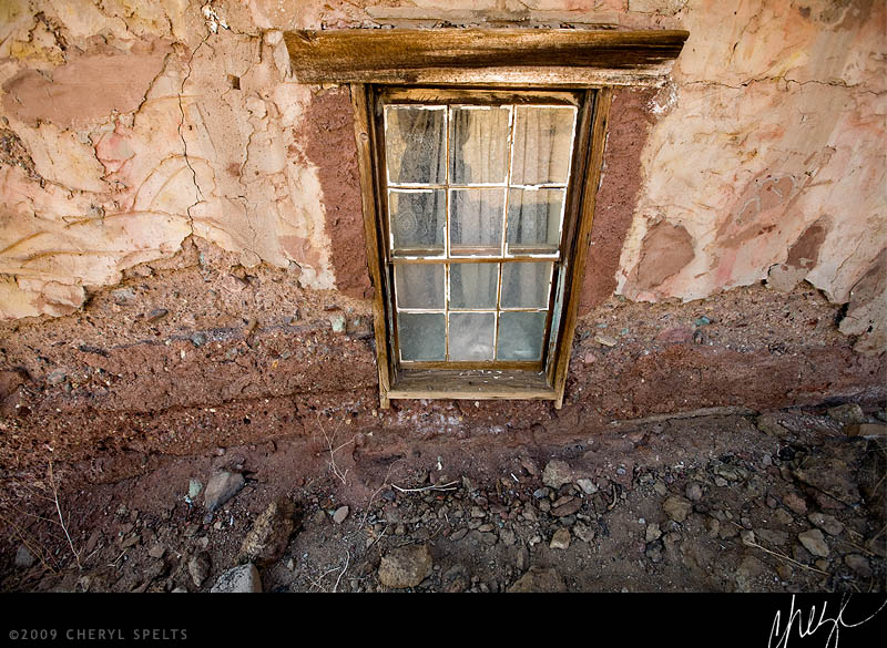 Old Window // Photo: Cheryl Spelts