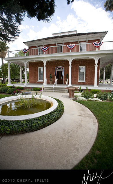 Estudillo Mansion, San Jacinto, California