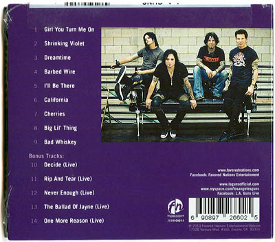 CD: Shrinking Violet, by LA Guns