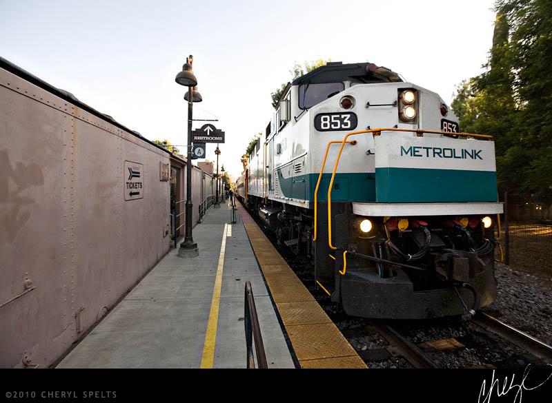 Amtrak Train // Photo: Cheryl Spelts