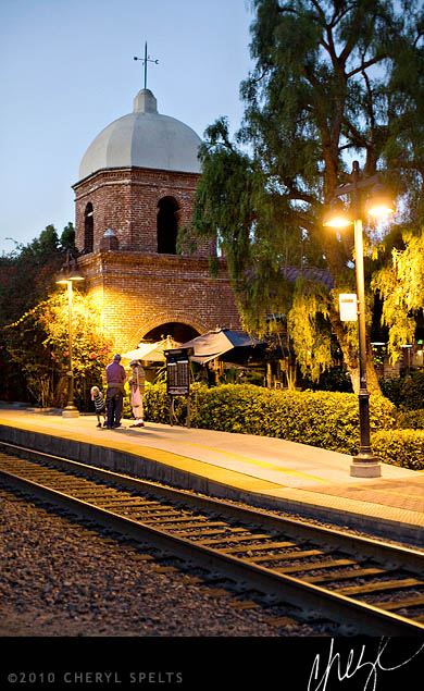 San Jaun Capistrano Train Station // Photo: Cheryl Spelts