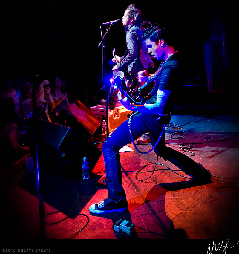 Lukas Rossi and Stars Down at The Galaxy Theater in Santa Ana, California