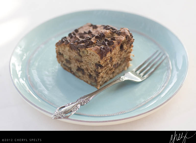 Banana Bread with Chocolate Chips // Photo: Cheryl Spelts