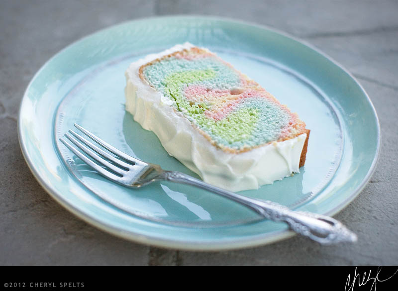 Rainbow Jello Cake // Photo: Cheryl Spelts