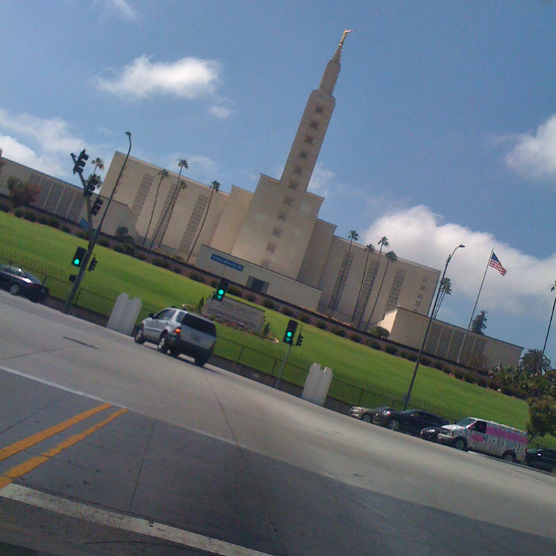 Los Angeles Morman Temple