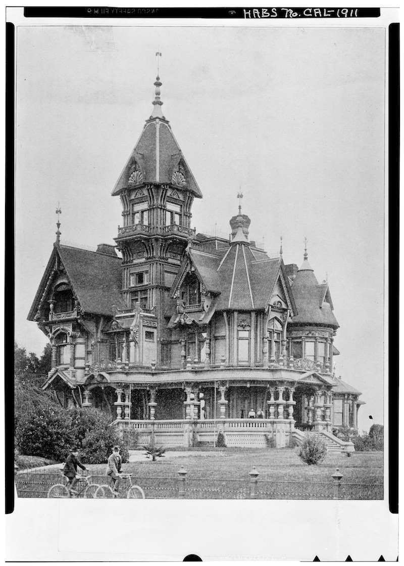 Carson Mansion in 1902