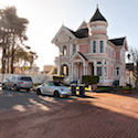 The Pink Lady in Eureka, California